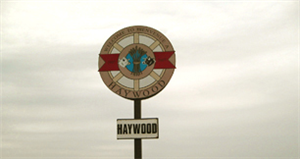 Haywood Sign